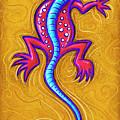Sand Lizard by David Kyte