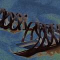 Sand Shoes II by Deborah  Crew-Johnson