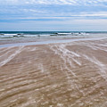 Sand Swirls On The Beach by John M Bailey