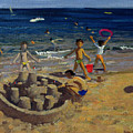 Sandcastle by Andrew Macara