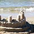 Sandcastle  by Lisa Knechtel