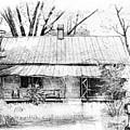 Sandersville Road Farmhouse by Peter Muzyka