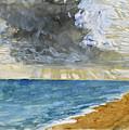 Sandgate Beach. Kent  by John Ruskin