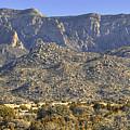 Sandia Mountain Panorama by Alan Toepfer