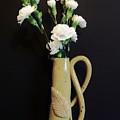 Sandi's Leaf Vase by Marsha Heiken