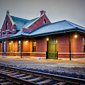 Sandpoint Station by Albert Seger