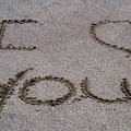 Sandscript - I Love You by Michael Bergman