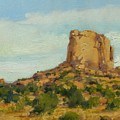 Sandstone Butte Navajo Country by Spike Ress