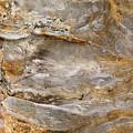 Sandstone Formation Number 2 At Starved Rock State by Steve Gadomski