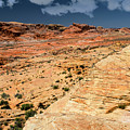 Sandstone Landscape Valley Of Fire by Frank Wilson