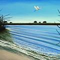Sandy Beach by Elizabeth Robinette Tyndall