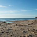 Sandy Beach by Linda Kerkau