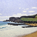 Sandy Beach Oahu by Norman Engel