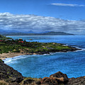 Sandy Beach Park-oahu by Neil Doren