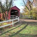 Sandy Creek Covered Bridge by Harold Rau