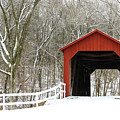 Sandy Creek Covered Bridge by Holly Ross