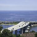 Sandy Hook Bridge by Erin Cadigan