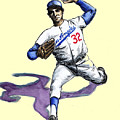 Sandy Koufax by Mel Thompson