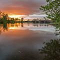 Sandy River Sunset by Daniel Gomez