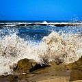 Sandy Surf Splash by Bonnie Follett