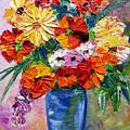 Sandy's Flowers by Mary Jo Zorad
