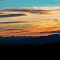 Sangre De Cristo Mountain Sunst by Steve Krull