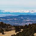 Sangre De Cristo Mountain Valley by Steve Krull