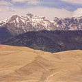 Sangre De Cristo Mountains And The Great Sand Dunes by James BO  Insogna