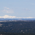 Sangre De Cristo Mountains From Bald Mountain Colorado by Steve Krull