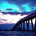 Sanibel Causeway Bridge by Michael Frizzell