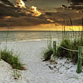 Sanibel Island Beach Access by Greg Mimbs