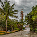 Sanibel Island Lighthouse by Capt Gerry Hare