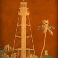 Sanibel Island Lighthouse by Trish Tritz