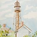 Sanibel Lighthouse 2 by Maggii Sarfaty