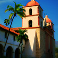 Sannta Barbara Mission by Perry Webster