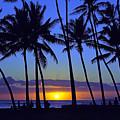 Sans Souci Sunset Waikiki by Kevin Smith