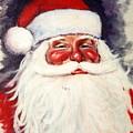 Santa 1 by Ronald Dill