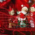 Santa And His Elves by Toni Hopper