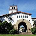 Santa Barbara Courthouse -by Linda Woods by Linda Woods