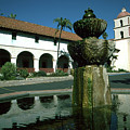Santa Barbara Mission by JOANNE McCubrey