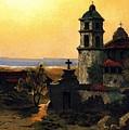 Santa Barbara Mission by Pg Reproductions