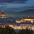 Santa Croce And Santa Maria Del Fiore by Adam Rainoff