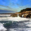 Santa Cruz Coastline by Scott Hill