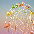 Santa Cruz Ferris Wheel by Linda Woods