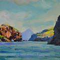 Santa Cruz Island by Richard  Willson