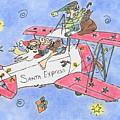 Santa Express by Vonda Lawson-Rosa