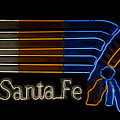 Santa Fe Indian by David Lee Thompson