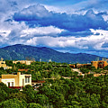 Santa Fe New Mexico by Mountain Dreams