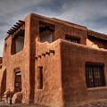 Santa Fe - New Mexico Museum Of Art 001 by Lance Vaughn