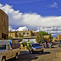 Santa Fe Plaza 2 by Madeline Ellis